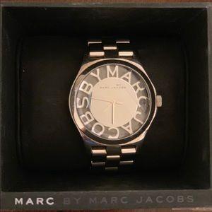 MBM3205 Skeleton Stainless Steel Watch